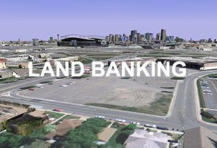 urban land conservancy land banking in Denver