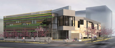 image of new west denver library on fastracks line