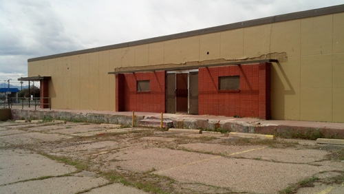 Existing Vacant Bowling Alley
