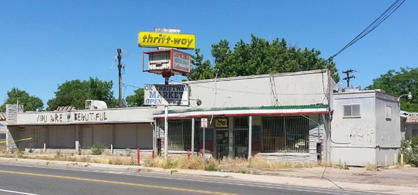Thriftway property in Denver Colorado