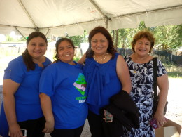 Members of Westwood Unidos Say Goodbye to Thriftway