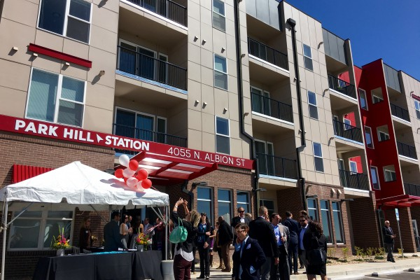Grand opening of park hill station marks 156 new affordable housing units in denver urban land for 3 bedroom apartments denver metro area
