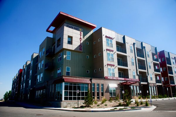 Park Hill Station Apartments celebrated their grand opening in April 2016, and will neighbor the Artway North development | Photo courtesy, Alana Romans.