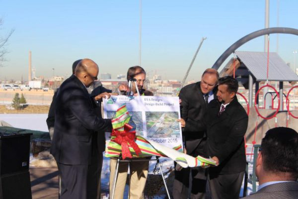 López at the US 6 Bridges Celebration. | Photo courtesy, Councilman Paul D. López