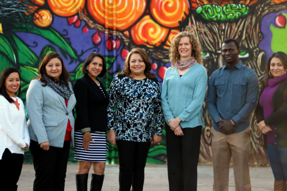 The staff of Community Language Cooperative | Photo courtesy, Confluence.