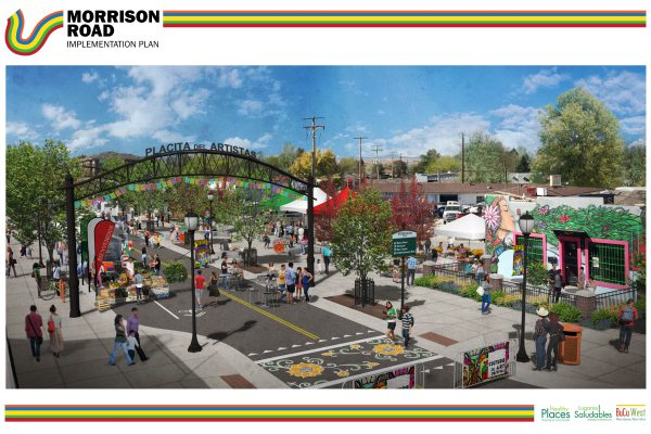"An image from the ""Morrison Road Streetscape Implementation Plan."""