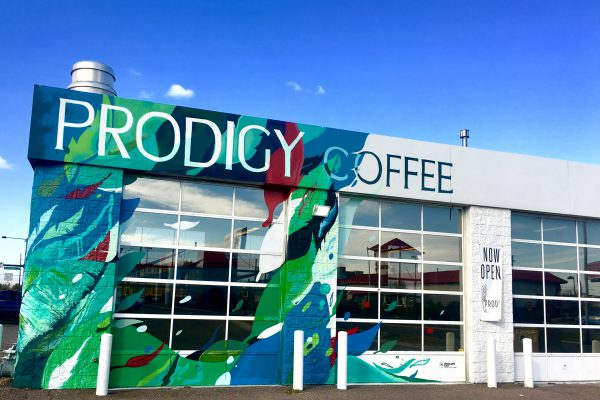 Prodigy Coffeehouse, in NE Park Hill