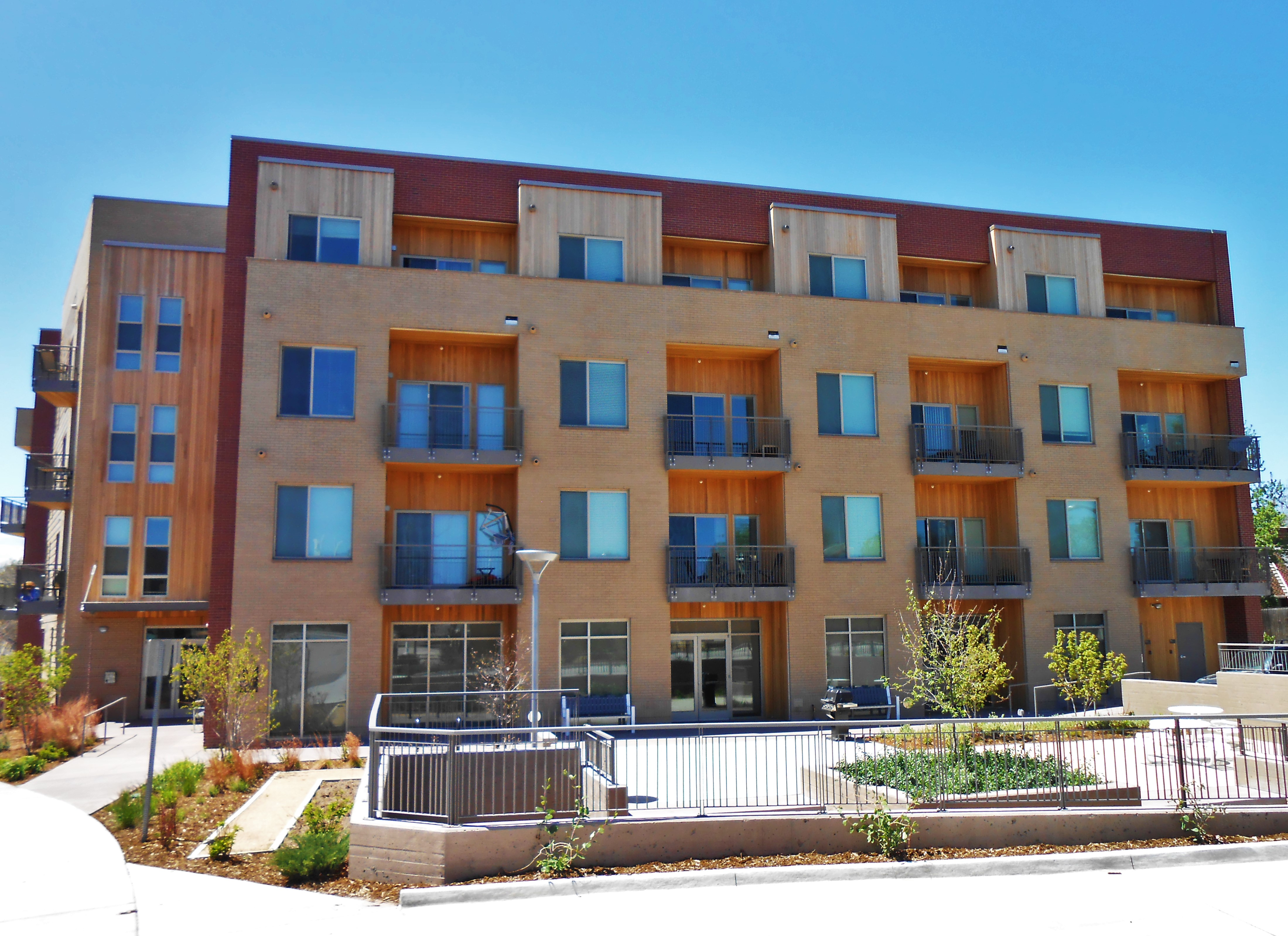 Real estate assets of the urban land conservancy in denver colorado for Garden court apartments denver