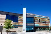 """The Rodolfo """"Corky"""" Gonzales Library in Denver's West Colfax neighborhood."""