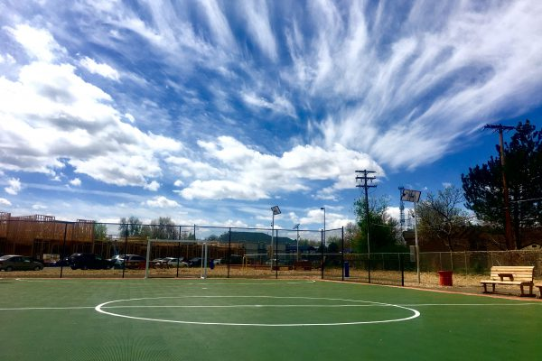 In 2017, ULC opened a futsal court and pocket park for interim use at the Thriftway site in Westwood