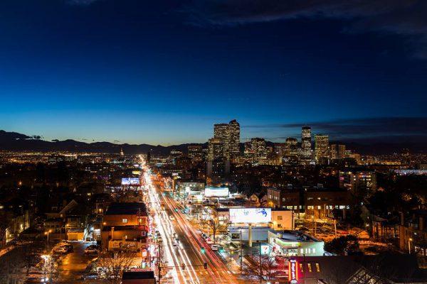 Colfax Avenue running north, downtown Denver. Photo Courtesy | Max Bohana