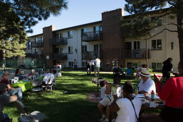 Wadsworth resident BBQ on September 12. Photo Courtesy | Lauren DeBell
