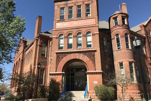 Wyatt Academy in the Cole Neighborhood of Denver. Photo courtesy, Westword.