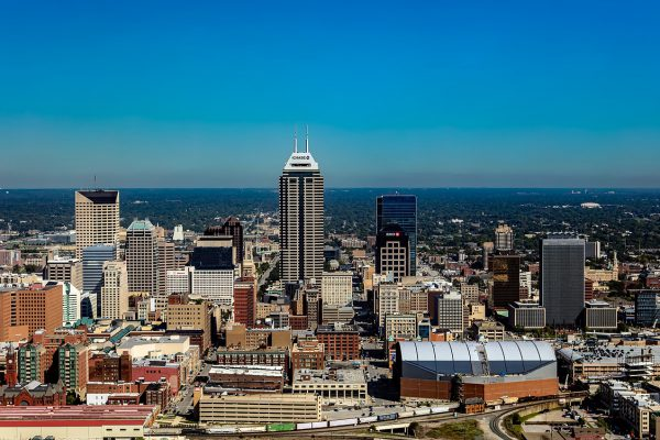 Indianapolis Skyline. Photo Courtesy