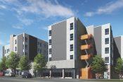 Walnut Street Lofts rendering. Photo courtesy: Kephart   Community   Planning   Architecture