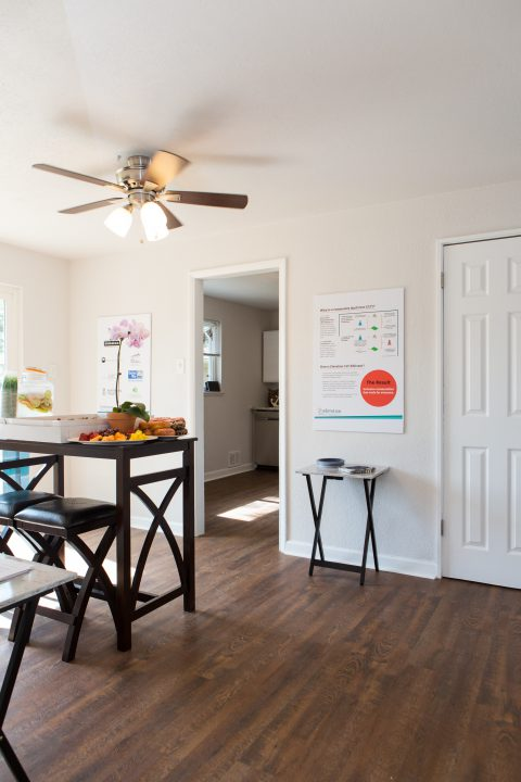 Inside Elevation's first affordable for-sale home in Aurora, Colorado.
