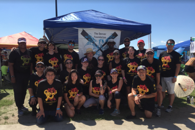 This year's Team Stewardship at the 2019 Dragon Boat Festival.