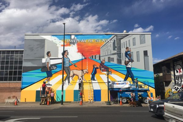 The East Colfax Art Project. Photo courtesy, WalkDenver