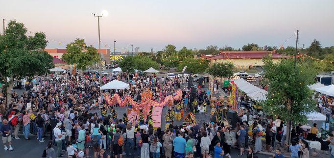 "WalkDenver's ""Mid-Autumn Festival"" at the Far East Center in Denver. Photo courtesy, WalkDenver"