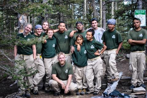 Photo courtesy, Mile High Youth Corps.