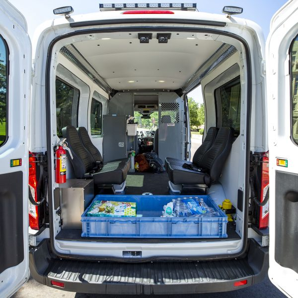 The Support Team Assisted Response van. June 8, 2020. (Kevin J. Beaty/Denverite)